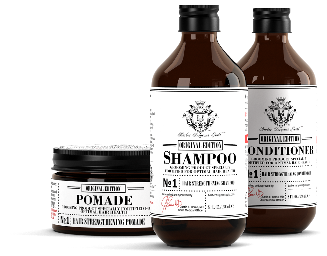 Cleanse & Style Kit w/ Pomade