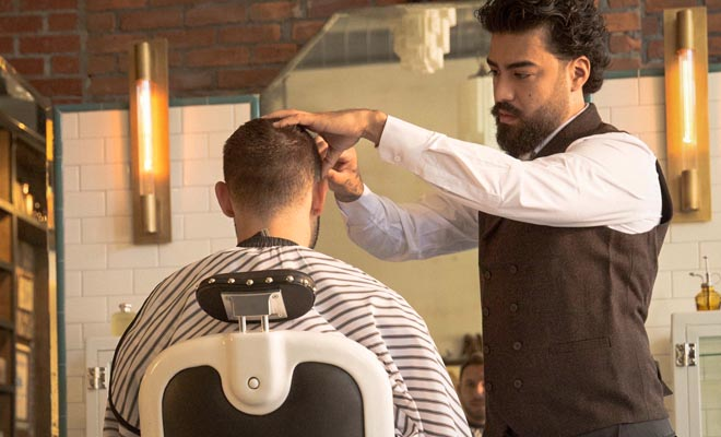 Signature Haircut & Razor Shave Combination